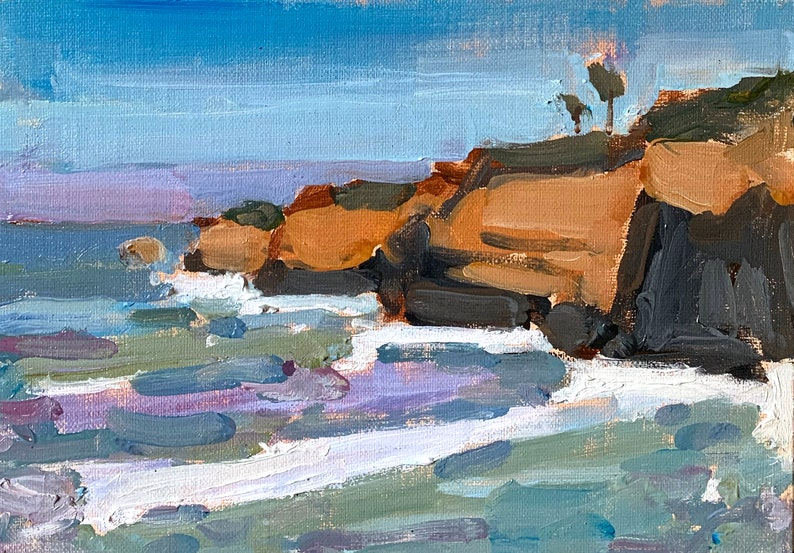 Cabrillo Plein Air San Diego Landscape Painting image 0