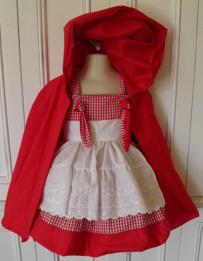 de3b6c020 Little Red Riding Hood Boutique Costume Size 2T 3T 4T 5 6