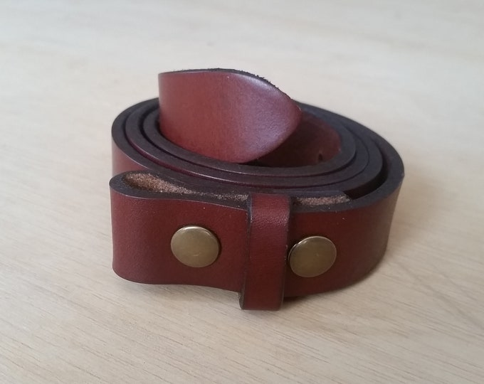 Brown Leather Belt strap