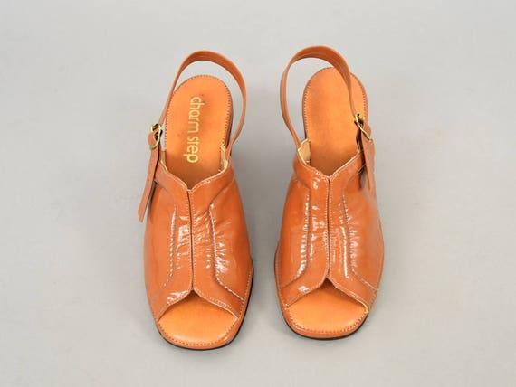 Sandals 7 US Mod Slingback 60's xZwcCqaEEf