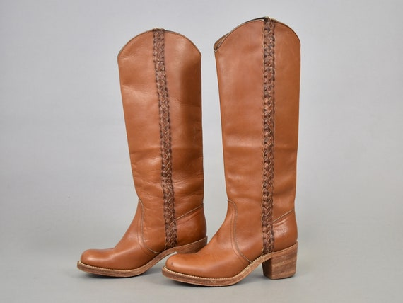 FRYE Leather Campus Boots (6.5)