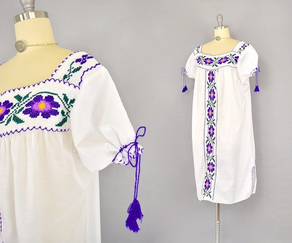 Cross-Stitch Peasant Dress