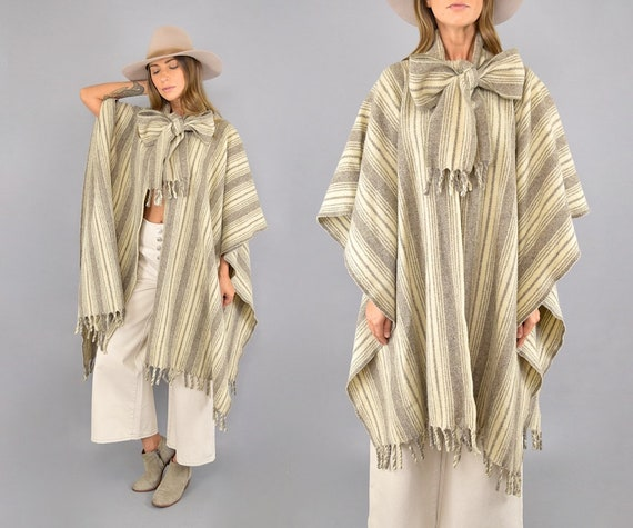 Mexican Wool Poncho