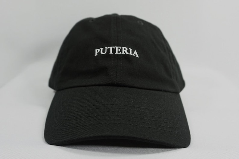 Puteria Dad Hat Black Dad Hat Baseball Hat Funny Hats Personalized Hats By Gag Threads