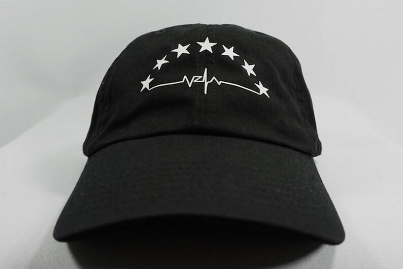 7a0f609f6aa Venezuela Stars Dad Hat Black Dad Hat Baseball Hat Funny