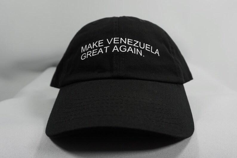 Make Venezuela Great Again Dad Hat Black Dad Hat Baseball  6d1716211df8