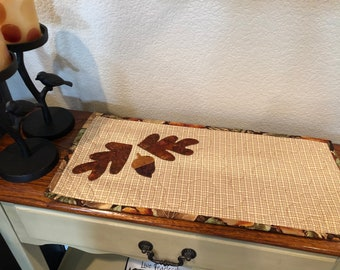 Quilted Table Topper / Handmade Table Topper / Country Decor / Farmhouse Decor / Primitive