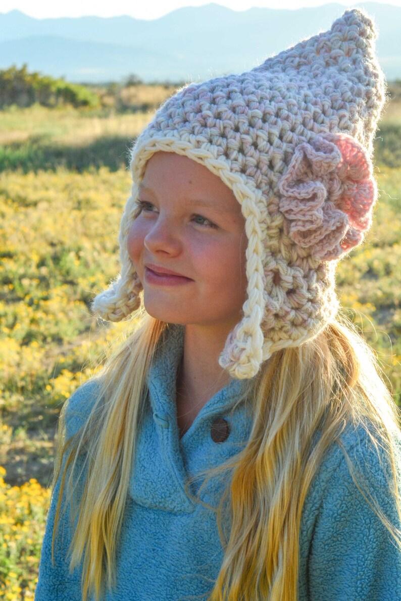 1cbb8468e0f Crochet Hat Pattern  Earflap Hats for Men Women Girls Boys