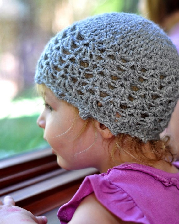 Crochet Baby Pattern Picot And Lace Baby Cloche Pdf Etsy