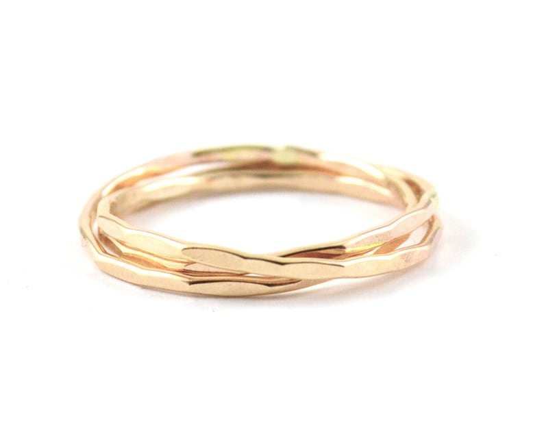 Russian wedding ring   rolling rings   interlocking ring  image 0