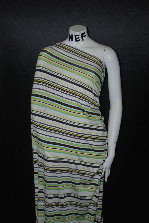 3e6f87bac67 Modal Spandex Knit Jersey Fabric Beautiful Stripes Multicolor | Etsy