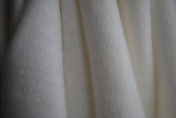 fec864bf865 Bamboo Fleece Cotton knit fabric sweatshirt weight Undyed | Etsy