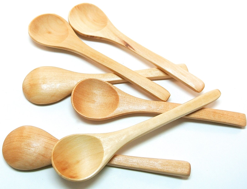 Small Wooden Scoops For Bath Salts