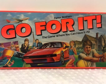 Go For It Boardgame by Parker Brothers