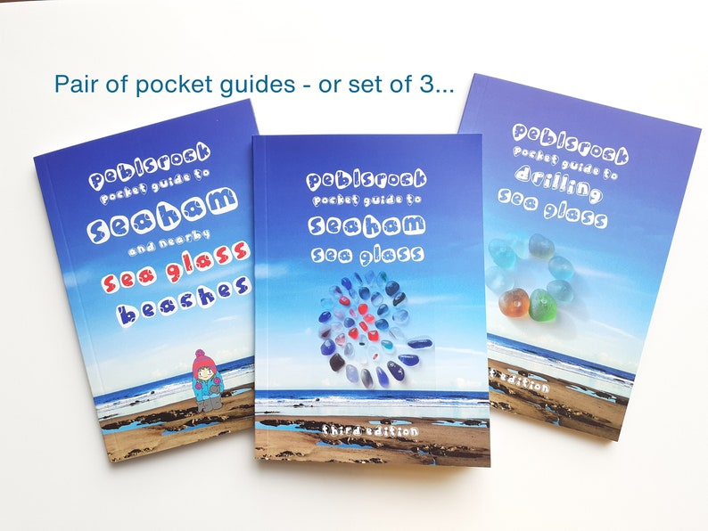 NEW Set of Two or Three Peblsrock Pocket Guides image 0