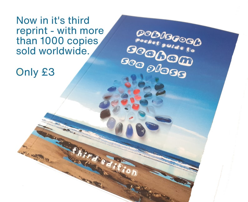 The Peblsrock Pocket Guide to Seaham Sea Glass  3rd Edition image 0