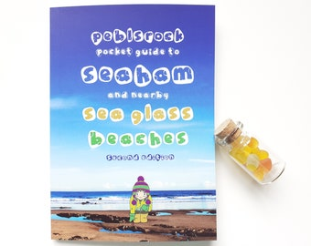 Back in Print!  - The Peblsrock Pocket Guide to Seaham and nearby Sea Glass Beaches - 2nd Edition
