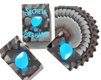Secrets of Seaham Playing Cards - Limited edition - only 500 decks will ever be printed.