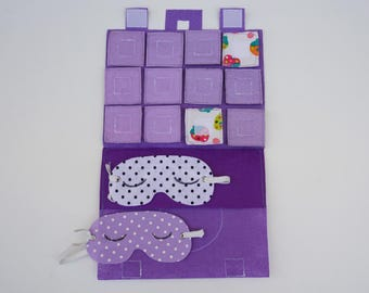 Tactile Memory Game / Travel Toy for Toddlers / Gift for Kid / Travel Toy / Unique Gift / On the Go / Educational Toy / Birthday Gift /