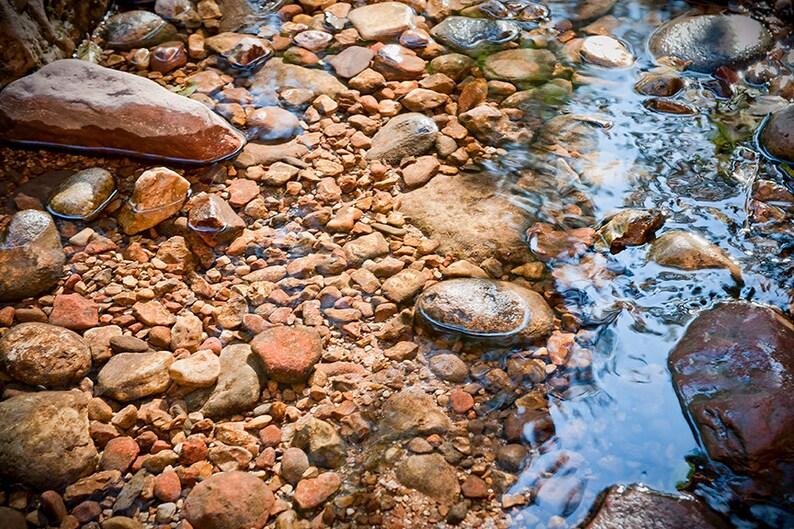 Oak Creek Meditation  Sedona Art Print  Nature photography  image 0