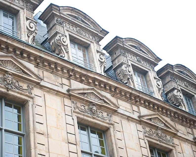Paris Windowscape II.  French Decor  Parisian Wall Print  image 0