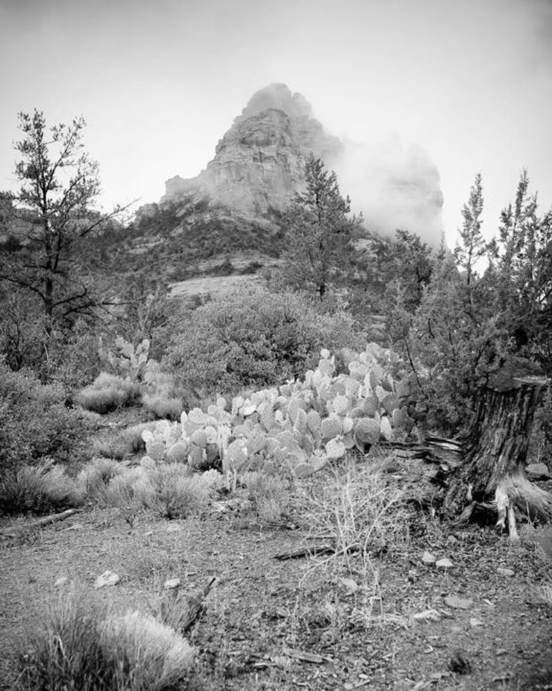Be Still Know that I Am  Sedona photography  mountain in image 0