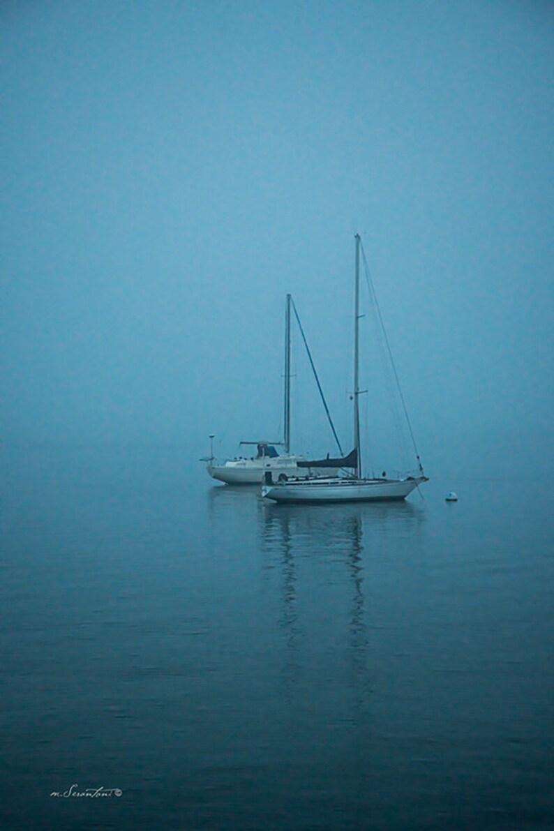 Landscape Photography  Shelter Island at Dusk  Nautical image 0