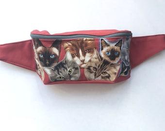 Lots of Cats Fanny Pack Bum Bag Festival Bag Hip Sack Sling Bag Shoulder Bag Backpack