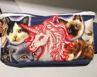 Unicorn and Cats Fanny Pack Bum Bag Festival Gear