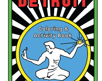 Detroit Coloring & Activity Book