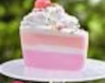 Slice Of Birthday Cake Soap Dessert
