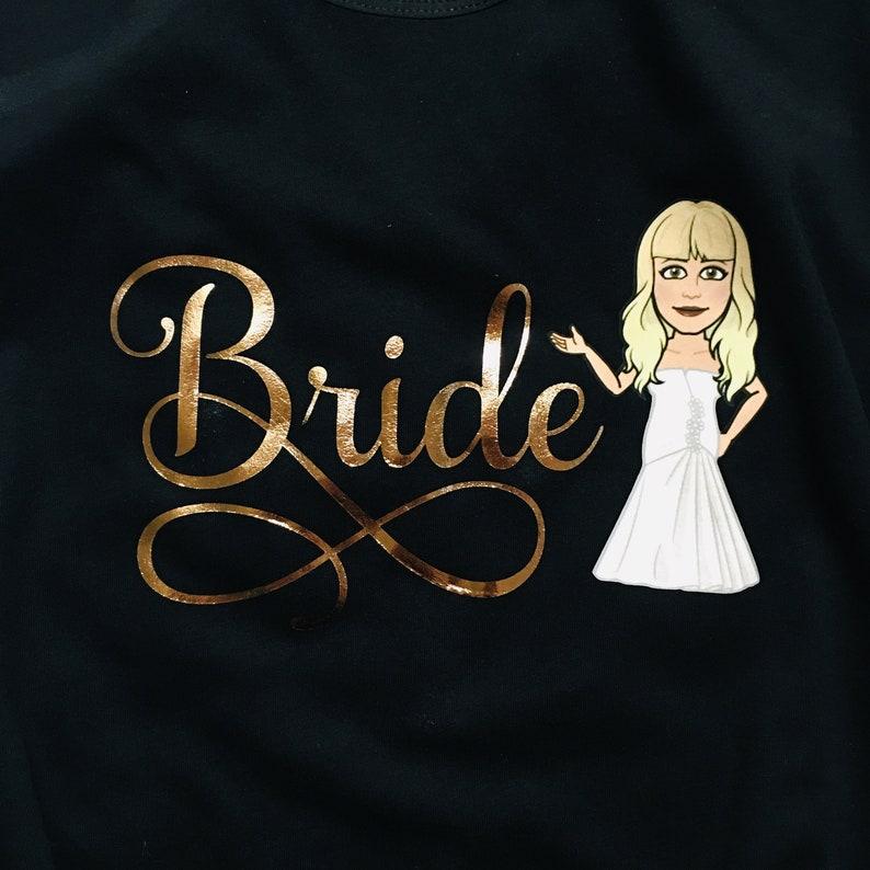 Bitmoji Bride Shirt