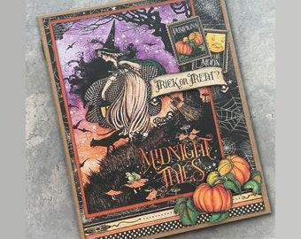 Midnight Tales File Folder Album *TUTORIAL*