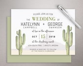Articles Similaires A Jeu De Cactus Mariage Invitation