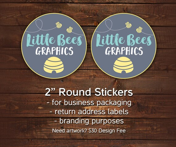 Packaging stickers round business stickers stickers with