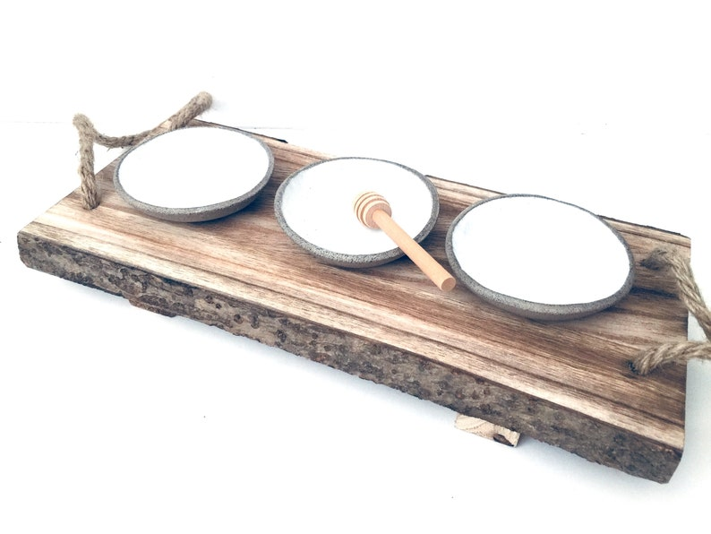 White Ceramic Saucer Bowls Small Ceramic Bowl Set of 3 image 0