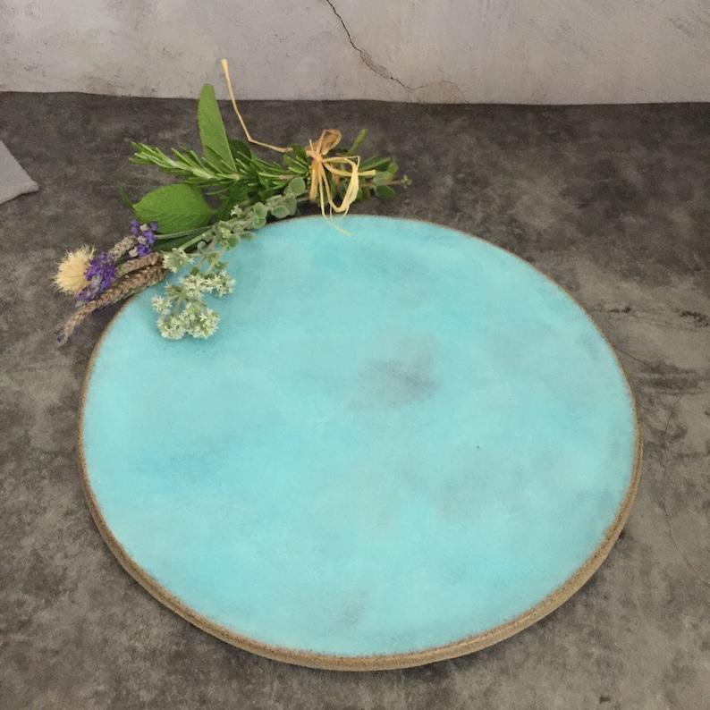 Ceramic Plates Urban Kitchen Dinner Plates Set of 6 Plates image 0