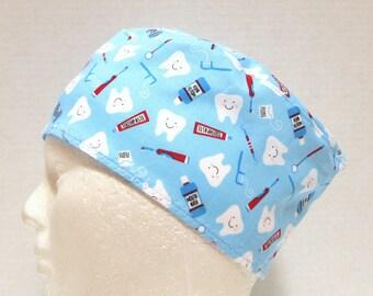 Scrub Hat, Surgical Cap or Skull Scrub Cap for Dentists