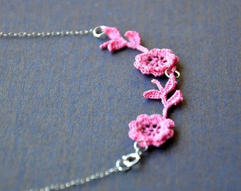 Double Rose Necklace