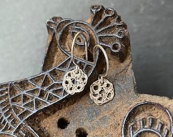 Tiny Crochet Earrings