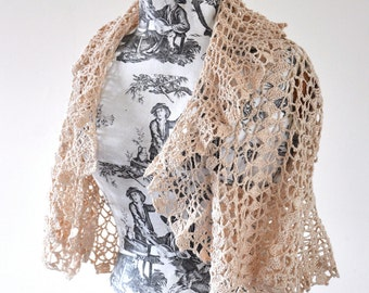 Summer Lace Crochet Shrug - MADE TO ORDER