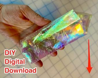 Khyber Crystal Gem -  DIY Iridescent Crystal PDF Download