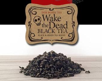 Wake the Dead Tea // Halloween Tea// Day of the Dead Tea // Gothic Tea Party // Valentine Gift // Gothic Valentine