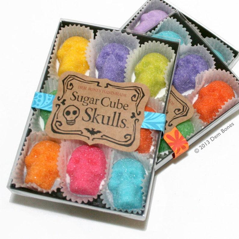 Sugar Skull Gifts Girlfriend Gift Sugar Cubes image 0
