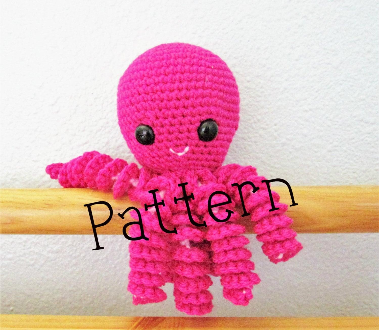 Crochet Octopus Pattern Octopus Infant Octopus toy pattern   Etsy
