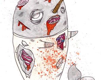 Zombie Narwhal