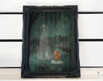 The Rain - Art print (3 different sizes)