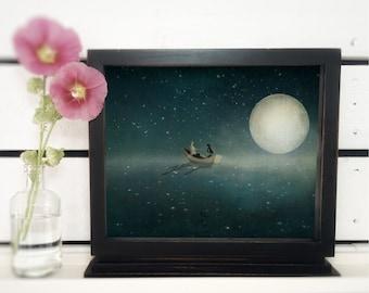 Moonlight - (3 different sizes)