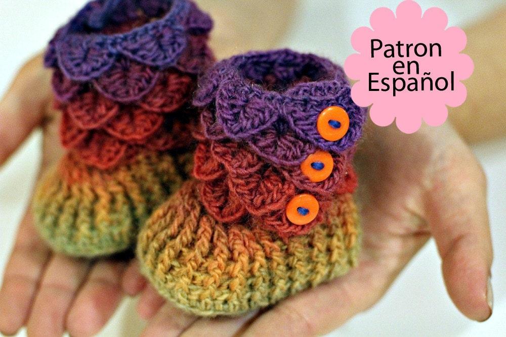 Increíble Botines Patrón De Crochet Colección de Imágenes - Manta de ...