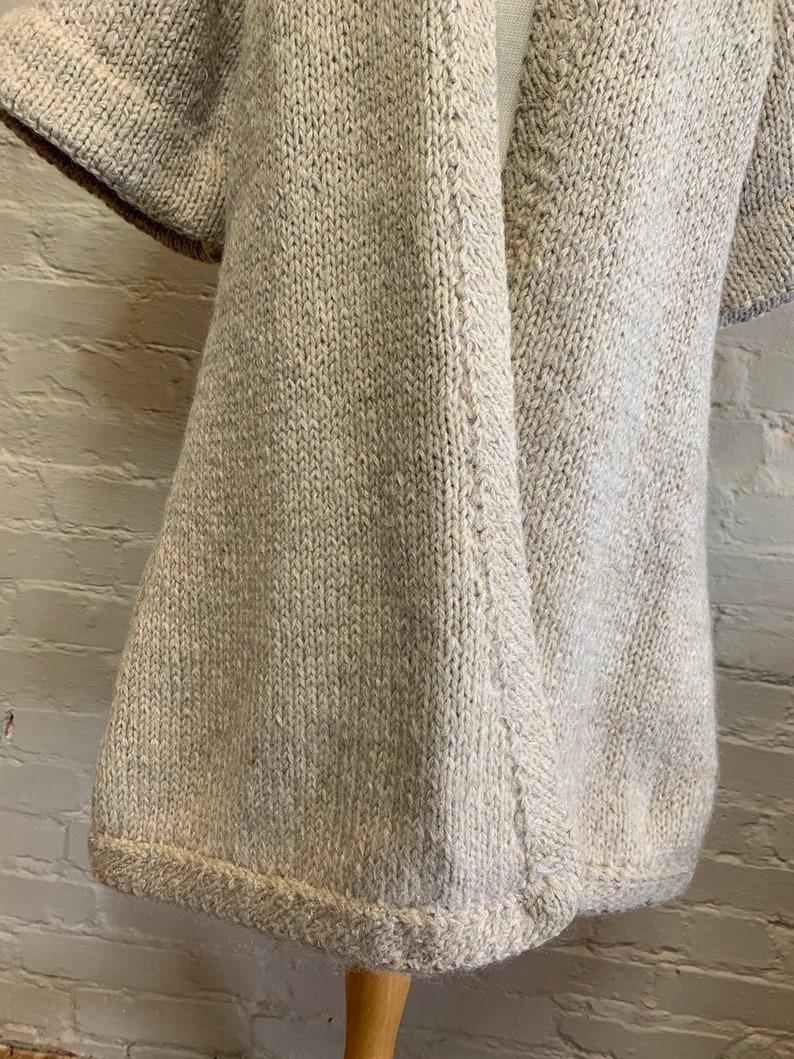 1940s Wool Knit Sweater